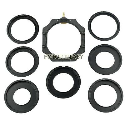 "Metal Adapter Ring & 100mm Filter Holder for Lee Hitech Cokin Z PRO 4X4""/5.65""/5"
