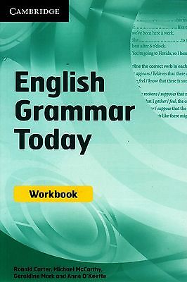 Cambridge ENGLISH GRAMMAR TODAY Self-study & Classroom WORKBOOK with Answers NEW
