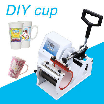 Sublimation Digital Cup Mug Heat Transfer Press Machine Automatic Digital Timer