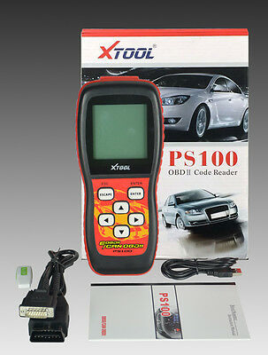 PS100 OBD OBD2 CAN-BUS Auto Scanner LIVE DATA Code Reader Diagnostic Tool