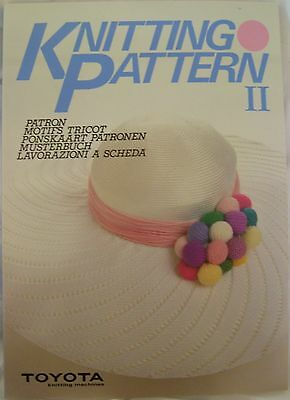 Toyota Knitting Patterns Book II for Most Knitting Machines - T181