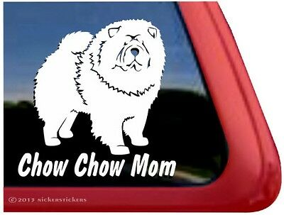 Chow Chow Mom | High Performance Vinyl Dog Window Car Truck Decal Sticker