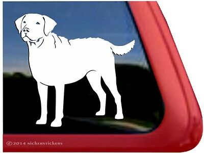 Chesapeake Bay Retriever Gun Dog High Performance Vinyl Window Decal Stickers