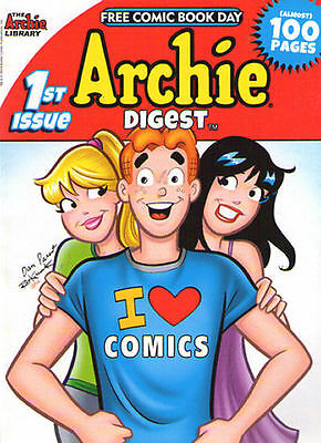 ARCHIE DIGEST - Free Comic Book Day - 2014 - NEW