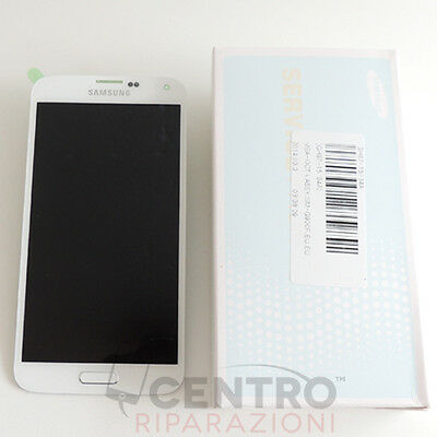 Display Lcd Touch Screen Originale Samsung Galaxy S5 Sm-G900F Bianco White