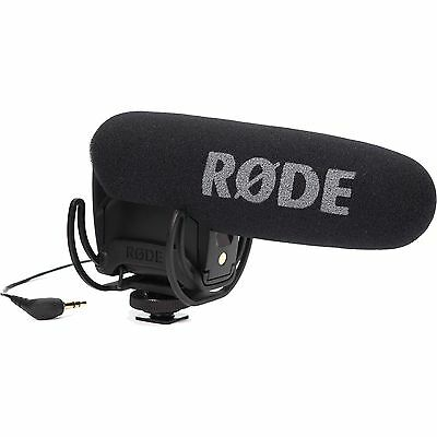 Rode VideoMic Pro with Rycote Lyre Shockmount Compact Shotgun Microphone NEW!