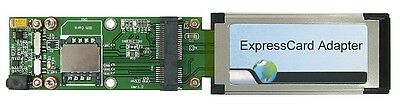 Bplus PE3B ExpressCard to (NGFF/M.2) / Minipci express Card Adapter