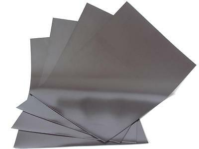 4 x A5 Magnetic Sheets 0.4mm compatible for use with most Die Cutting Machines