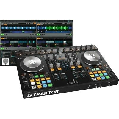 Native Instruments Traktor Kontrol S4 MK2 MKII ALL-IN-ONE DJ Software Controller