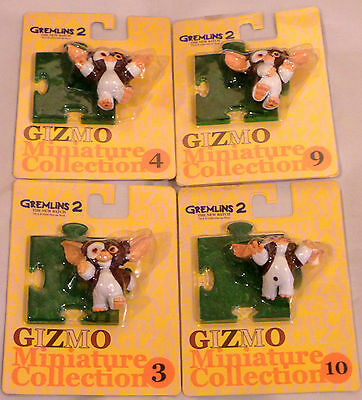 Gremlins : 4 Gizmo Carded Figures From Gremlins Ii Made In 2000 By Jun Planning