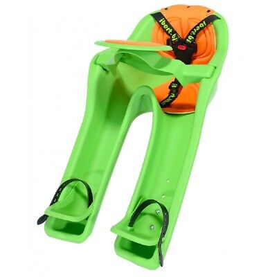 iBert Front Mount Bicycle Baby Seat Child Safe-T-Seat NEW Bike Kid Carrier Green