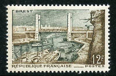 Stamp / Timbre France Neuf N° 1117 ** Port De Brest