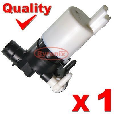Renault Trafic Twingo Washer Pump Electric Motor Twin Double Water Outlet