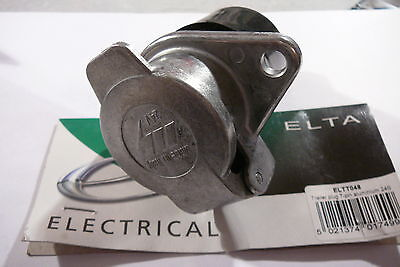 Trailer Plug 24V 7 Pole / Pin Aluminium 24S (By Elta Electracal Eltt048)