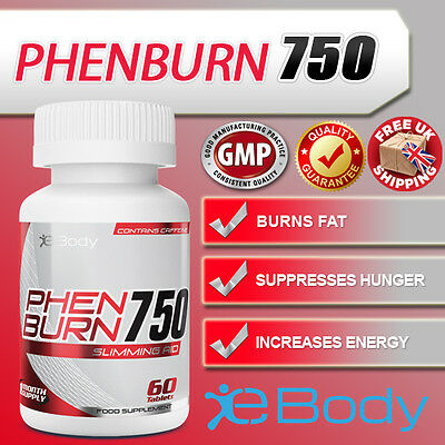 Phen375 Double Strength PhenBurn 750 Phentramine Replacement DIET SLIMMING