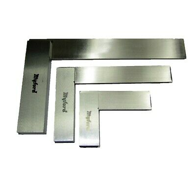 """New Myford Engineers Precision Steel Squares 2"""" 4"""" 6"""" Measuring - From Myford"""
