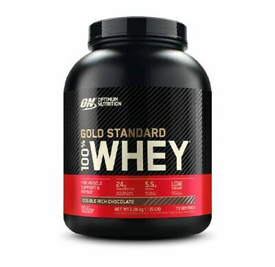 Optimum Nutrition 100% Whey Gold Standard 2270g mit Whey Protein Isolat Neu