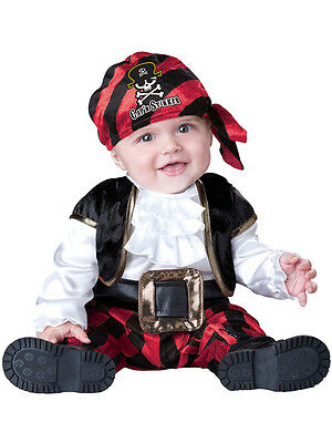 Toddler Child Pirate Captain Outfit Fancy Dress Costume Caribbean Kids Boys Girl