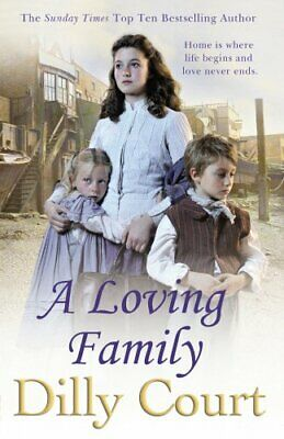 A Loving Family by Court, Dilly Book The Cheap Fast Free Post