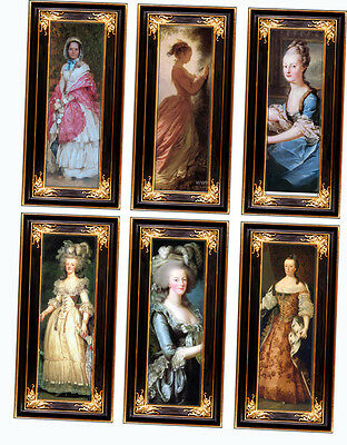 Dolls House Victorian Wall Panels choose from 1/12th or 1/24th scale #15