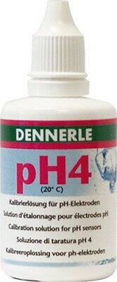 Dennerle PH Eichlösung 50 ml PH 4 NEU & OVP