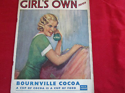 GIRL's  Own Paper  Classic Young Adult Magazine - Jan 1939 / 39