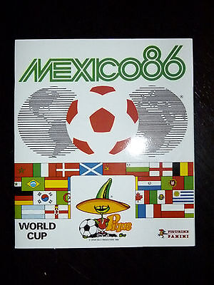 Panini World cup Mexico 1986 reprint full album 100% official