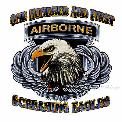 * US Army Airborne Special Forces T-Shirt *3193