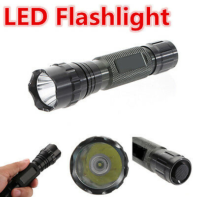 UltraFire 2200 Lumens CREE XM-L2 C8 T6 LED Flashlight Torch Lamp 18650 + Charger