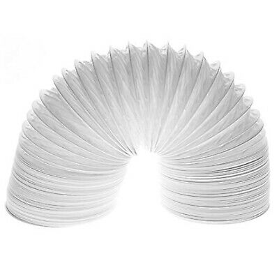 """WHITE KNIGHT Extra Strong Tumble Dryer Vent Hose Long Pipe Exhaust 4m x 4"""""""