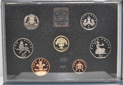 1987 United Kingdom Proof Coin Collection Royal Mint U.K.