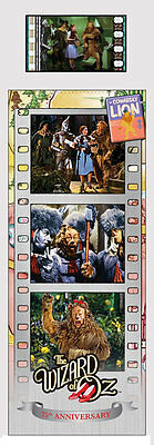 Film Cell Genuine 35mm Laminated Bookmark Wizard of Oz 75th Cowardly Lion BM650