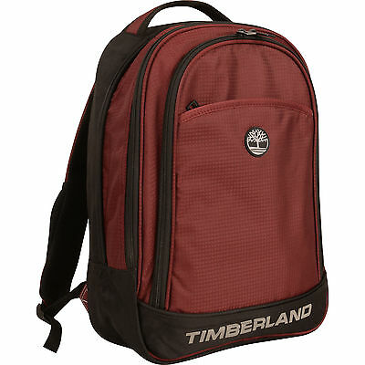 """TIMBERLAND LOUDON WINE BLACK 17"""" BACKPACK- $260 VALUE NEW"""