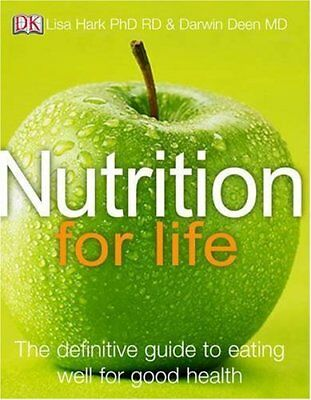 Nutrition for Life, Deen, Darwin Hardback Book The Cheap Fast Free Post
