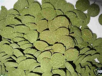 Fishwerx Gold 12Mm Spirulina Sinking Algae Wafers Fish Food - 1Kg