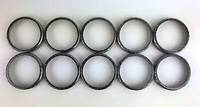 Lot 10 Pack Tapered 65324-83C Exhaust Gaskets Harley Twin Cam Big Twin EVO XL