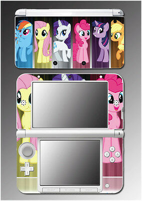 Cute My Little Pony Friendship is Magic Video Game Skin for Nintendo 3DS XL