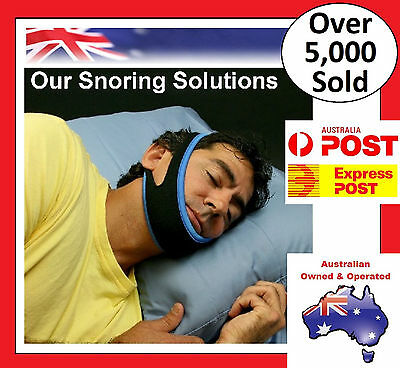 Anti Snore AntiSnore Device Jaw Strap Stop Snoring Solution Chin Support Strap