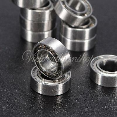 10pcs 13Size Miniature Metal Shielded Sealed Groove Model Ball Bearing MR Series