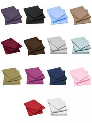 Luxury Percale Double Fitted Sheets Poly Cotton Non Iron Bed Sheet
