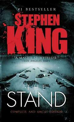 The Stand by Stephen King (English) Mass Market Paperback Book