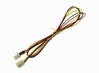 90cm Computer PC Fan Extension Cable - 3 pin male to female