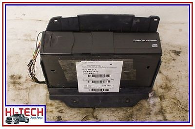 00 01 02 03 04 05 FORD EXPEDITION AUDIO EQUIPMENT 6 DISC CD CHANGER IN CONSOLE