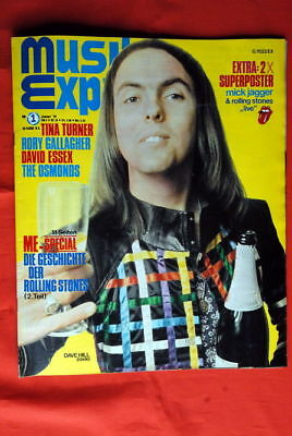 Slade Cover Who Essex Rolling Stones 1974 Rare Magazine