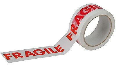 48mm x 66m 25mu Low Noise Printed Fragile Tape