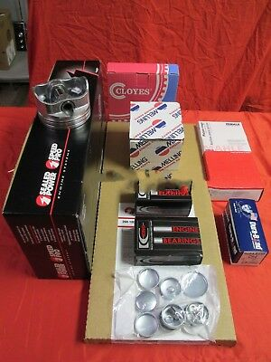 Mercruiser/Volvo/Chevy Marine 5.7L/5.7/350 Engine Kit Pistons+Rings+Gaskets 1-PC
