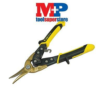 Stanley Tools 014206 FatMax Yellow Aviation Tin Snip Straight Cut 250mm (10in)