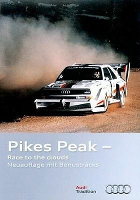 DVD Audi 01 - Pikes Peak  - Race to the clouds - Walter Röhrl