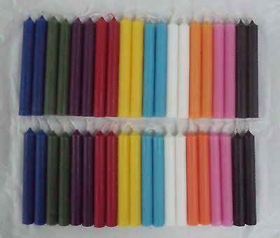 Mini Chime Spell Candles Set of 40 (2 x 20) Assorted Colors (Wicca Altar) Set #1