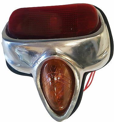 ukscooters VESPA REAR LIGHT VBB VBA GS RED AND AMBER LENS NEW BACKLIGHT